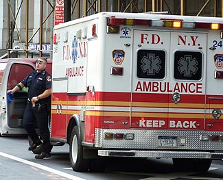 Fire Dept of New York Ambulance