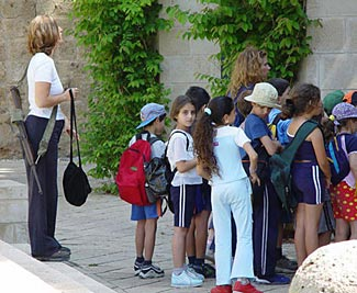 There's a reason you never hear of terrorist attacks on Israeli schools.