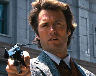 Don't learn your lessons from the movies. Dirty Harry isn't real. And you're not a cop.